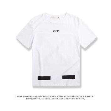Cheap Women's and men's OFF-WHITE t shirt for sale 85902898_0209