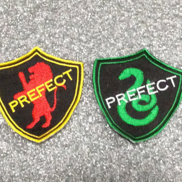 Prefect Patch interpreted from Hogwarts and Harry Potter