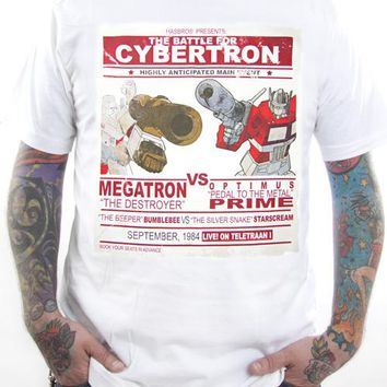 Transformers T-Shirt - Megatron Vs Optimus Prime