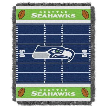Seattle Seahawks Baby Jacquard Throw (Sea Team)