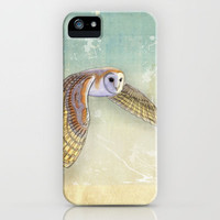 Barn Owl Labyrinth iPhone Case by Vin Zzep | Society6