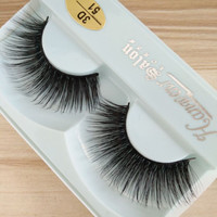 2boxes Lashes False Eyelashes Natural Makeup 3d Mink Lashes Eyelash Extension Make Up real siberian mink strip eyelashes