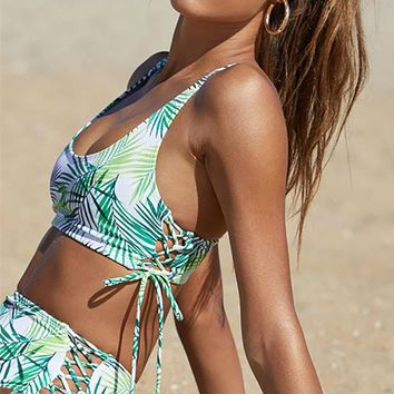 Tropical Natural Wind Bikini