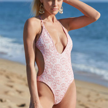 Blue Life Swim Hypnotic One Piece Swimsuit at PacSun.com