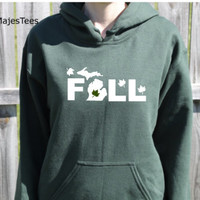 Fall Michigan Hoodie