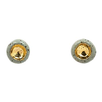 Mini Barnacle Speckled Studs