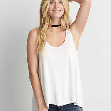 AEO Soft & Sexy Jegging Tank , Natural White