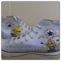 Minion Shoes - Both Side Painted