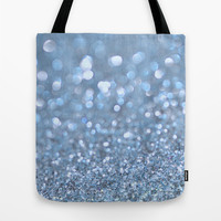 Baby Baby Blue Tote Bag by Lisa Argyropoulos