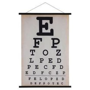 "Canvas Eyechart Wall Banner (24""x36"") - 3R Studios"