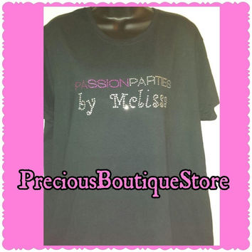Passion Parties (Add your name) Rhinestone Shirt