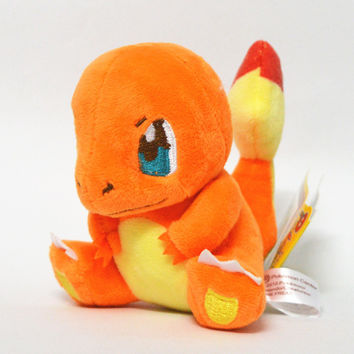12CM Charmander Plush Toys Stuffed Animals Dolls For Boys And Girls Best Birthday Christmas Gift Free shipping