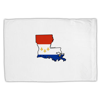 New Orleans Louisiana Flag Standard Size Polyester Pillow Case