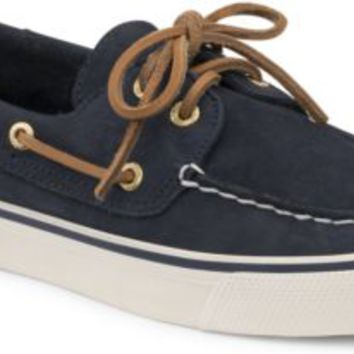Sperry Top-Sider Bahama Washable 2-Eye Boat Shoe Navy, Size 12M  Women's Shoes