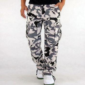 Cargo Pants Millitary Clothing Tactical Pants Men Cargo Pant Camouflage Army Style Camo Workwear Trousers Big Size S-xxxl