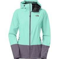 The North Face Women's Bashie Stretch Jacket - Light Blue / Powder Blue-Ski Apparel-Skiing-Winter-GEAR - Sport Chalet