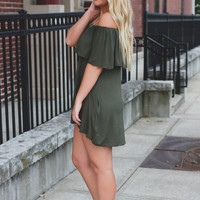 New Views Dress - Olive