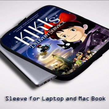 kikis delivery service Z0674 Sleeve for Laptop, Macbook Pro, Macbook Air (Twin Sides)