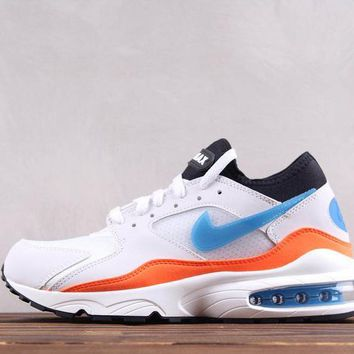 DCCK N251 Nike Air Max 93 Ratro Casual Running Shoes White
