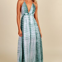 Dreams Come True Maxi Dress Sage