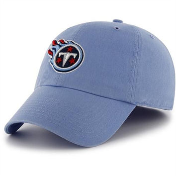 Tennessee Titans '47 Brand Classic Franchise II Fitted Hat – Blue
