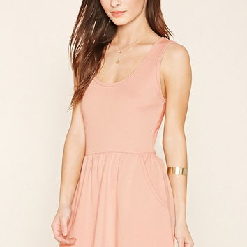 French Terry Skater Dress