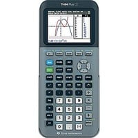 Texas Instruments TI-84 CE Color Screen Graphing Calculator, Silver | Staples