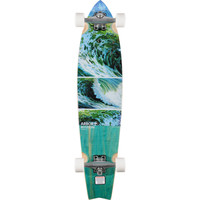 Arbor KOA Mission Chili Thom 37 Swallow Tail Longboard