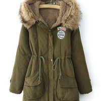 Warm Hooded Parka - 7 Colors