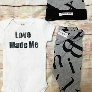 9d6b14e1dd20 Boy Baby Shower Gift  Newborn Set  Coming Home Outfit  Baby Gift