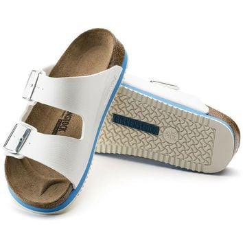 Sale Birkenstock Arizona Birko Flor White 0230124/0230126 Sandals