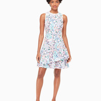 daisy garden poplin dress