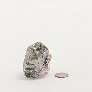 Totokaelo - Adina Mills Pyrite Cluster The Igniter Ring - $180.00
