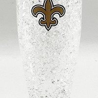 16Oz Crystal Freezer Pilsner NFL - New Orleans Saints