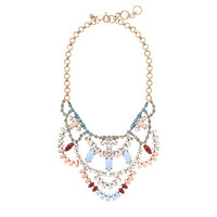 Crystal lace necklace - necklaces - Women's jewelry - J.Crew