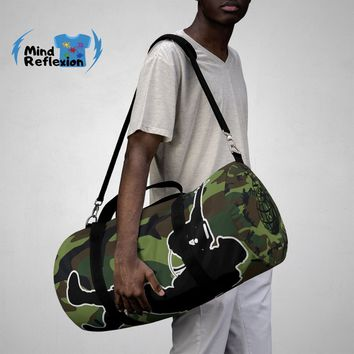 Army Camouflage - Duffle Bag