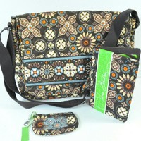Vera Bradley Set | Canyon Messenger Bag, ID Case +