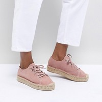 Alohas Bambita Espadrille Sneakers in Pink at asos.com