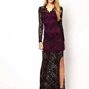 Jessica Wright Catherine Maxi Dress