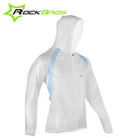 ROCKBROS Bicycle Bike Cycling Raincoat Breathable Compressed Windshield Waterproof Raincoat Outdoor Ride Mountain Road Bike Coat