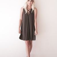 Sadie Criss Cross Dress - Luca + Grae