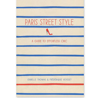 Paris Street Style Book - Urban Outfitters