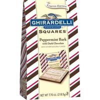 Ghirardelli Chocolate Peppermint Bark Squares with Dark Chocolate Holiday Gift, 7.7 oz - Walmart.com