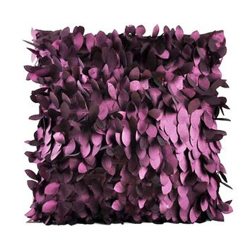 43x43CM Fallen Leaves Feather Couch Cushion Cover Home Decor Sofa Throw Pillow Case coussins decoratif Body Pillow