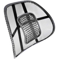 Evelots Mesh Office Home Chair & Car Seat Lumbar Back Support,Lower Back Cushion