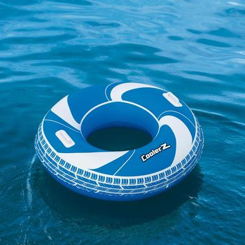 Dia 100cm Inflatable Spiral Swin Tube CoolerZ Swimming Ring Pool Float Air Mattress Pool Inflatable Toys Water Fun Raft