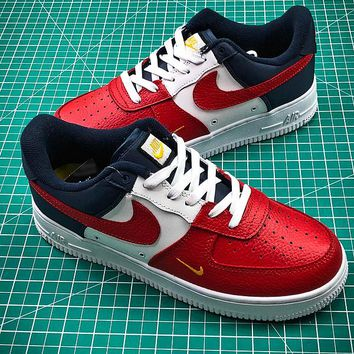 Nike Air Force 1 Low Independence Day AF1 Red White Blue Sport Shoes - Best Online Sale