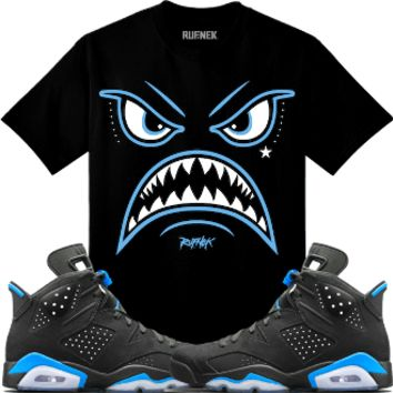 Air Jordan 6 UNC Sneaker Tees Shirt - WARFACE