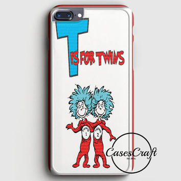 Thing 1 And Thing 2 iPhone 7 Plus Case   casescraft