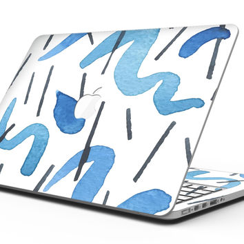 WaterColors Under the Scope - MacBook Pro with Retina Display Full-Coverage Skin Kit